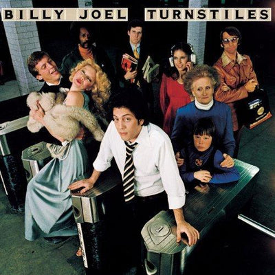 Billy Joel - Turnstiles [LP] (180 Gram Audiophile Vinyl, limited/numbered) [NO EXPORT TO JAPAN] - Urban Vinyl | Records, Headphones, and more.