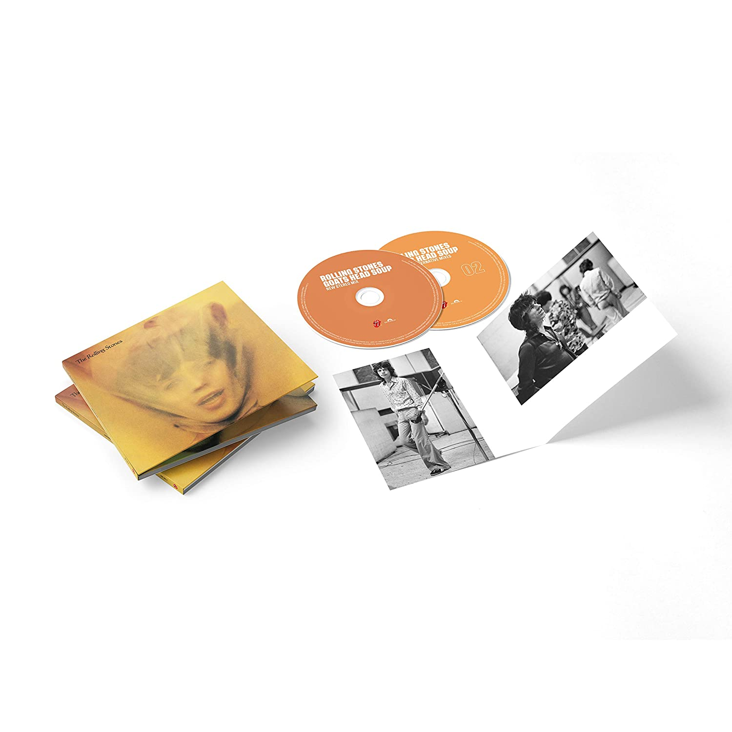 Rolling Stones, The - Goats Head Soup [2CD] (2020 Deluxe Edition, new stereo album mix, sourced from the original session files, 3 previously unreleased tracks) - Urban Vinyl | Records, Headphones, and more.