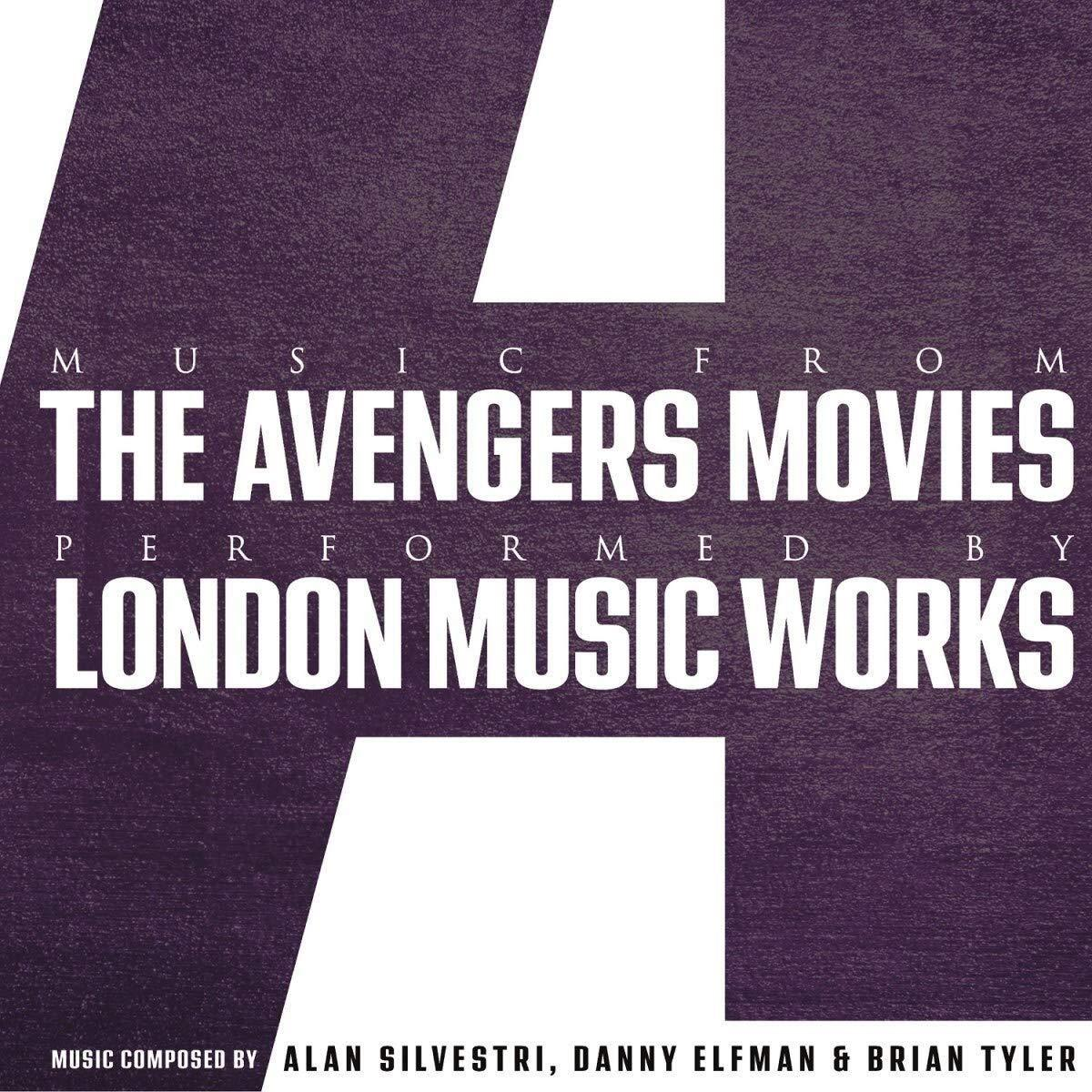 London Music Works - Avengers Movies, Music From The [LP] - Urban Vinyl | Records, Headphones, and more.