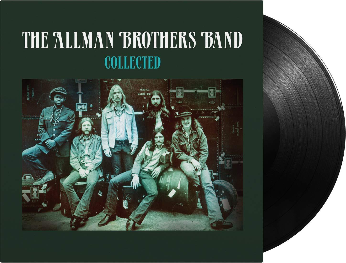 Allman Brothers Band - Collected [2LP] (180 Gram Black Audiophile Vinyl, gatefold, PVC sleeve, import) - Urban Vinyl | Records, Headphones, and more.