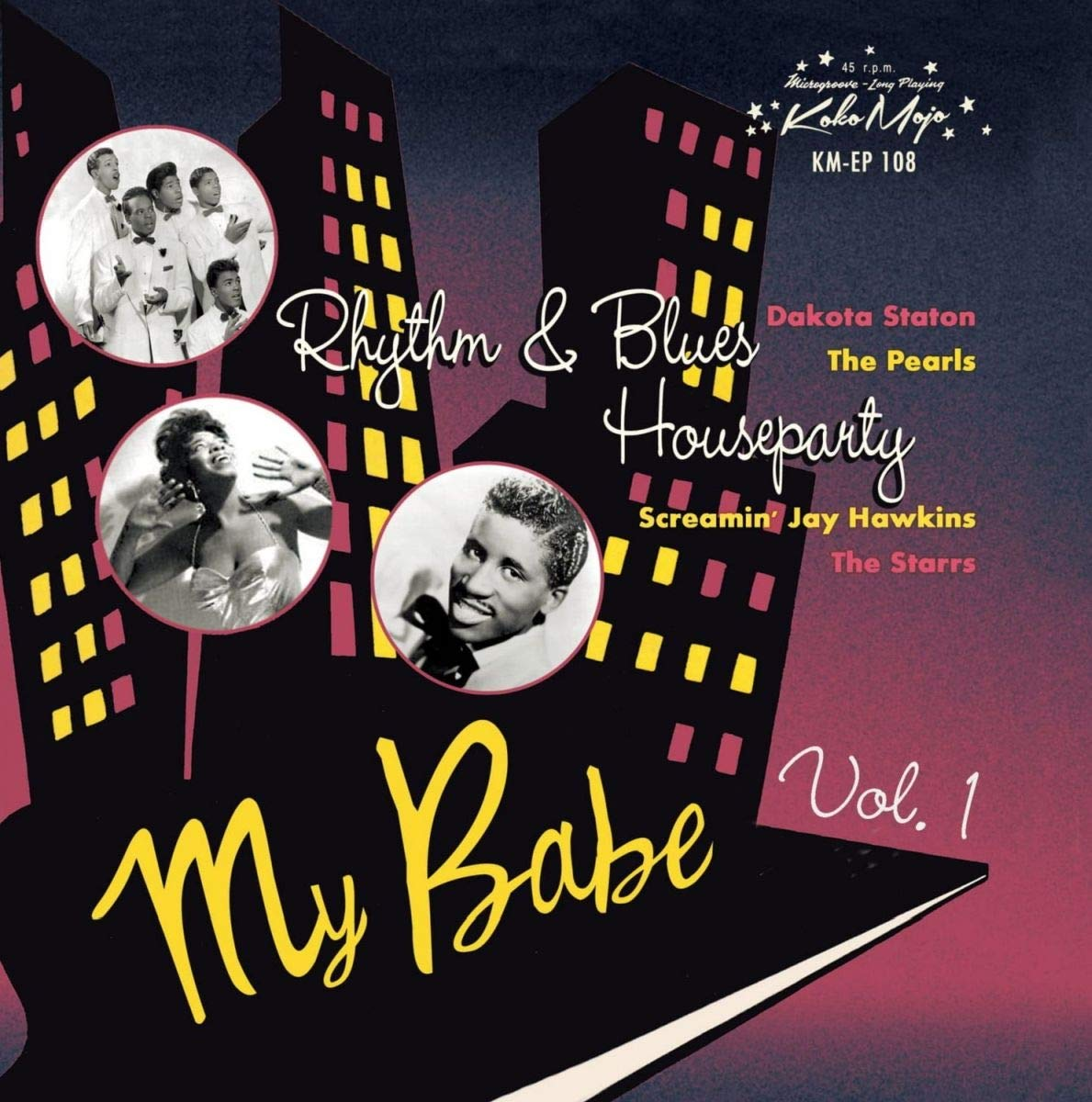 Various Artists - My Babe: Rhythm & Blues House Party Vol 1 [7''] (limited to 500) - Urban Vinyl | Records, Headphones, and more.