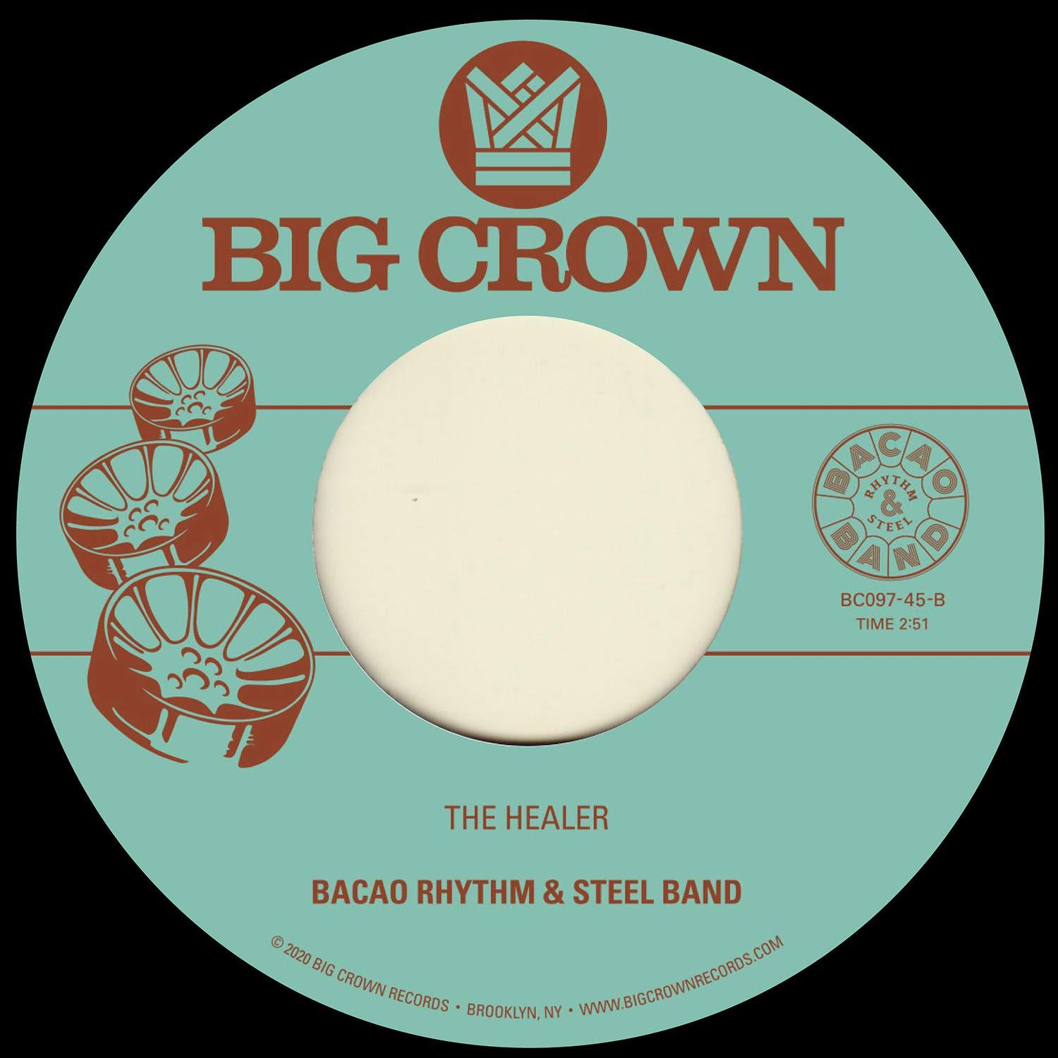 Bacao Rhythm & Steel Band - My Jamaican Dub b/w The Healer [7''] - Urban Vinyl | Records, Headphones, and more.