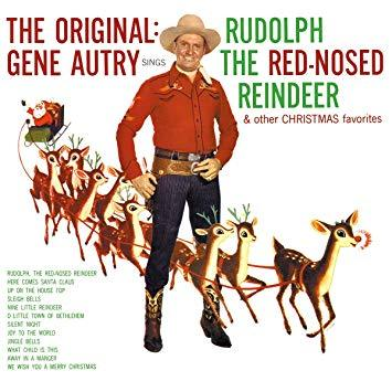 Gene Autry - Rudolph The Red-Nosed Reindeer And Other Christmas Favorites [LP] (first 1000 will be on 180 Gram Red Colored Vinyl) - Urban Vinyl | Records, Headphones, and more.