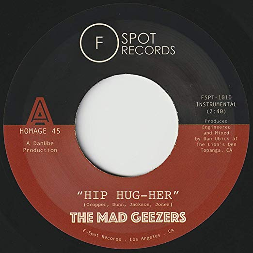 "The Mad Geezers - Hip-Hug-Her b/w Girl Of My Dreams (7"")"