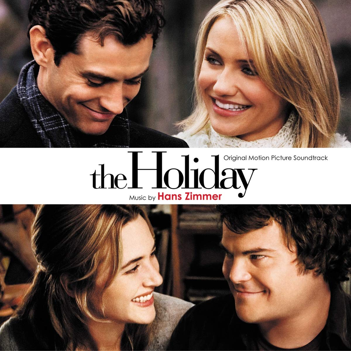 Hans Zimmer - Holiday, The (Soundtrack) [LP] (White Vinyl)