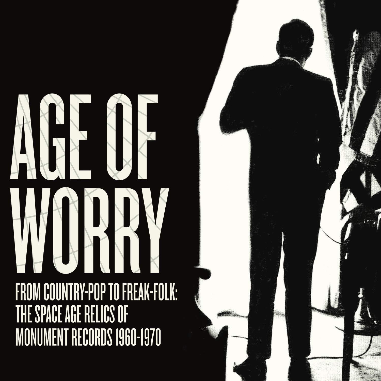 Various Artists - Age Of Worry [LP] (RANDOM White OR Black Vinyl, exclusive scholarly liner notes by Alvin Lucia, gatefold, limited)