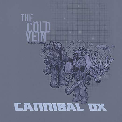 Cannibal Ox - The Cold Vein (Deluxe Edition 4XLP - Blue Vinyl)