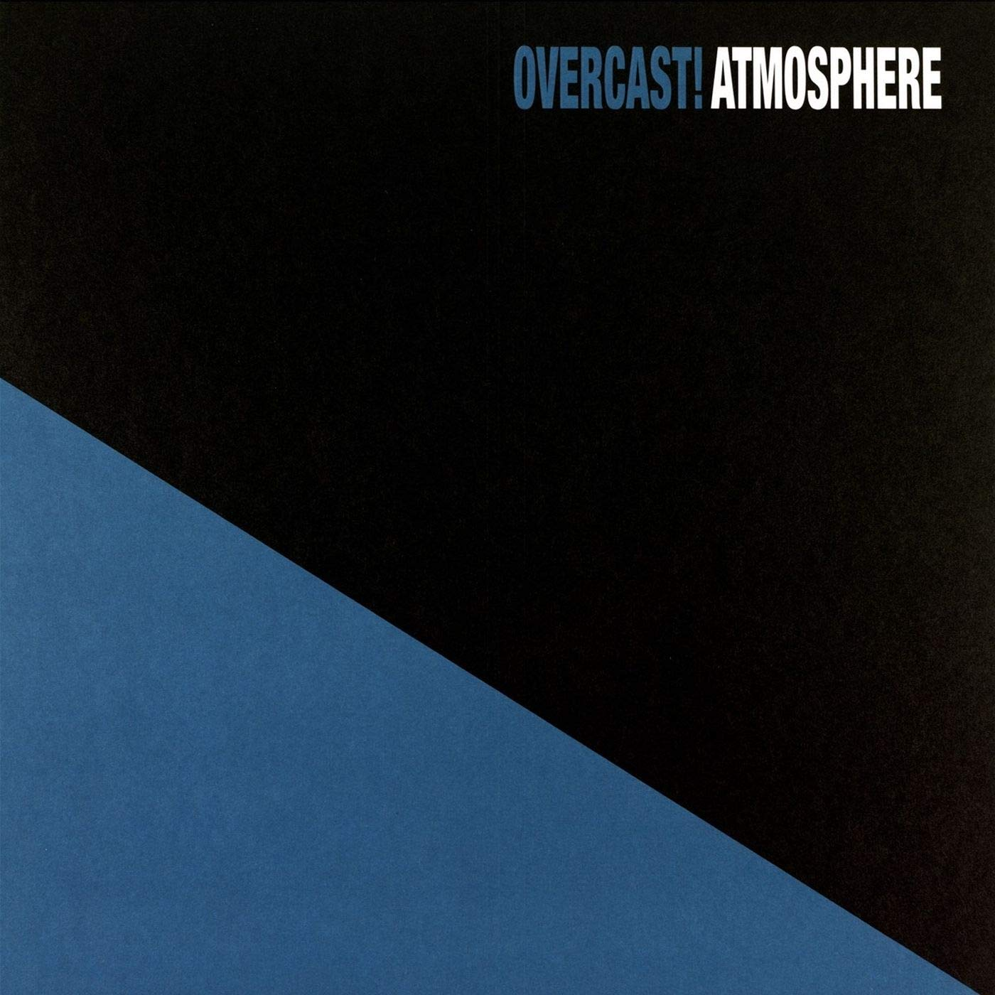 Atmosphere - Overcast! [3LP] (20th Anniversary, White Colored Vinyl, download, 3 previously unreleased bonus tracks)
