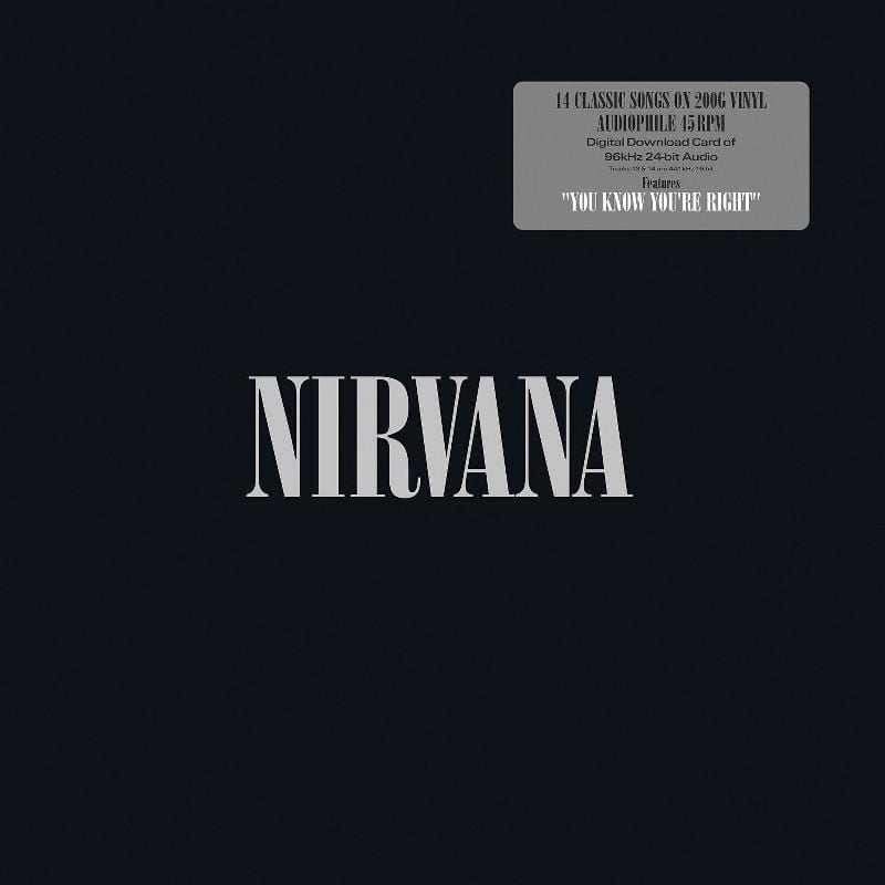 Nirvana - Nirvana (Greatest Hits) [2LP] (200 Gram 45RPM Audiophile Vinyl, includes ''You Know You're Right,'' Hi-Res download, first time on vinyl in the U.S.) - Urban Vinyl | Records, Headphones, and more.