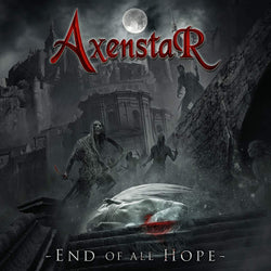 Axenstar - End Of All Hope [LP] (Red & Clear Vinyl, gatefold, limited) - Urban Vinyl Records