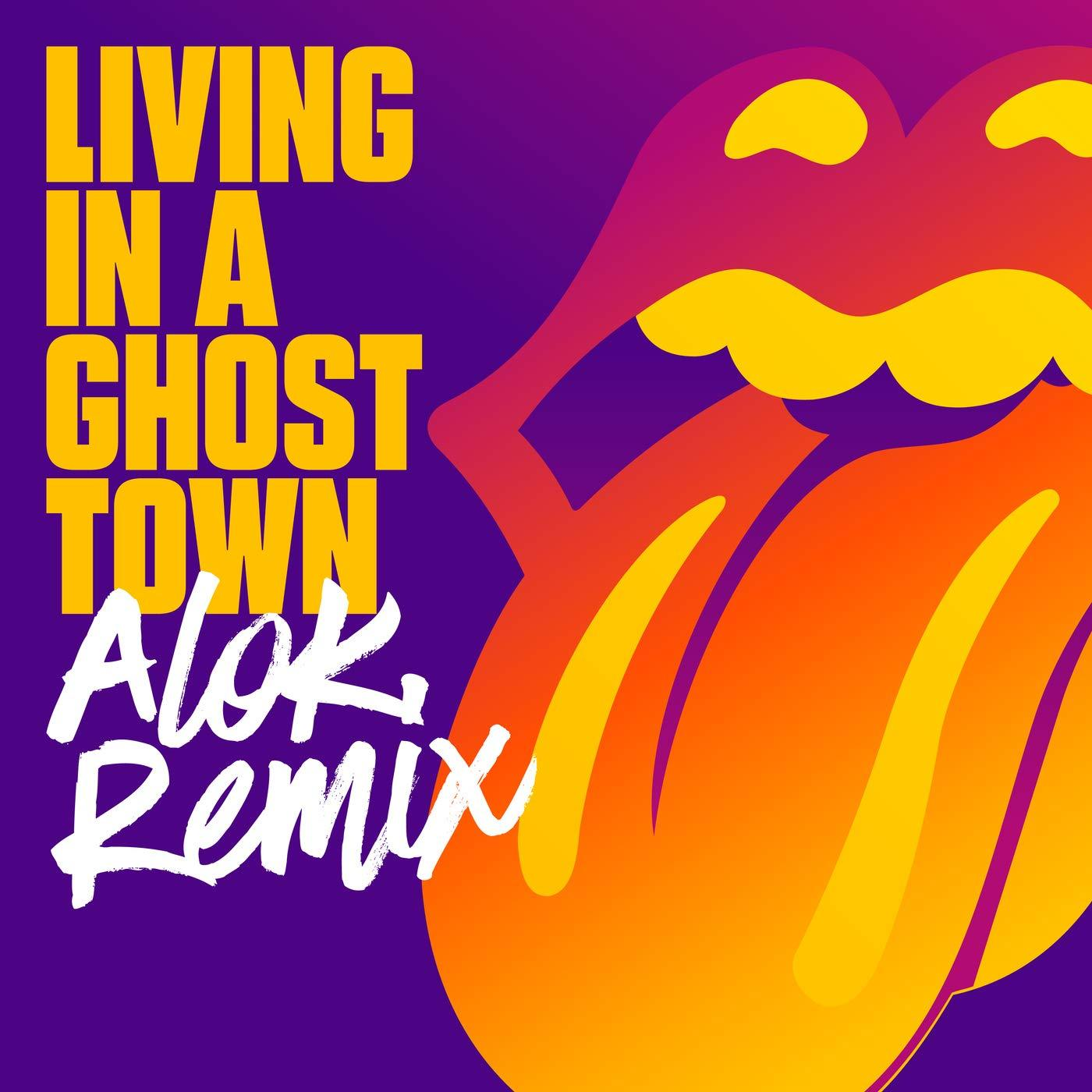 Rolling Stones, The - Living In A Ghost Town [10''] (Orange Vinyl, limited) - Urban Vinyl | Records, Headphones, and more.