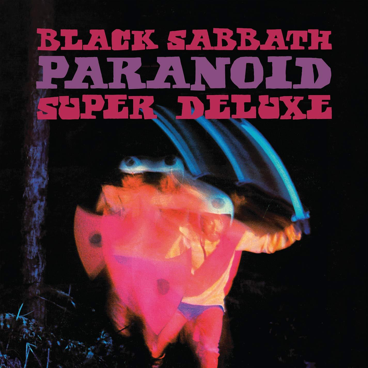 Black Sabbath - Paranoid (Super Deluxe Edition) [5LP] (2 concerts from 1970 that are first time on vinyl, hardbound book, poster, tourbook replica, limited)
