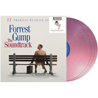 Various Artists - Forrest Gump (Soundtrack) [3LP] (Silver Vinyl, 25th Anniversary Edition) - Urban Vinyl | Records, Headphones, and more.
