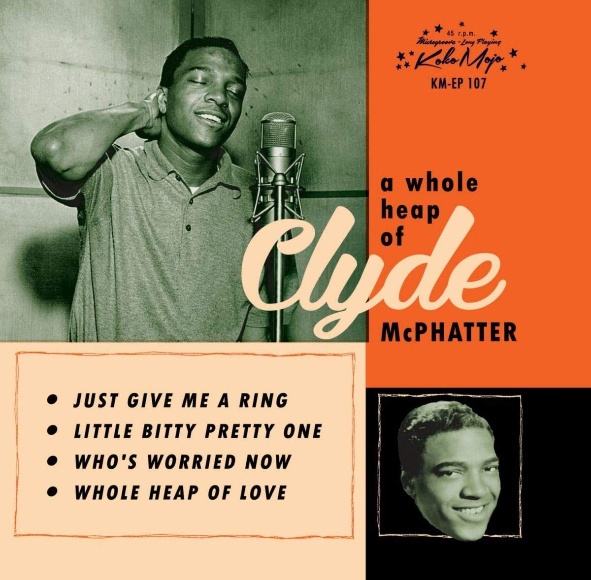 Clyde McPhatter - A Whole Heap Of [7''] (limited to 500) - Urban Vinyl | Records, Headphones, and more.