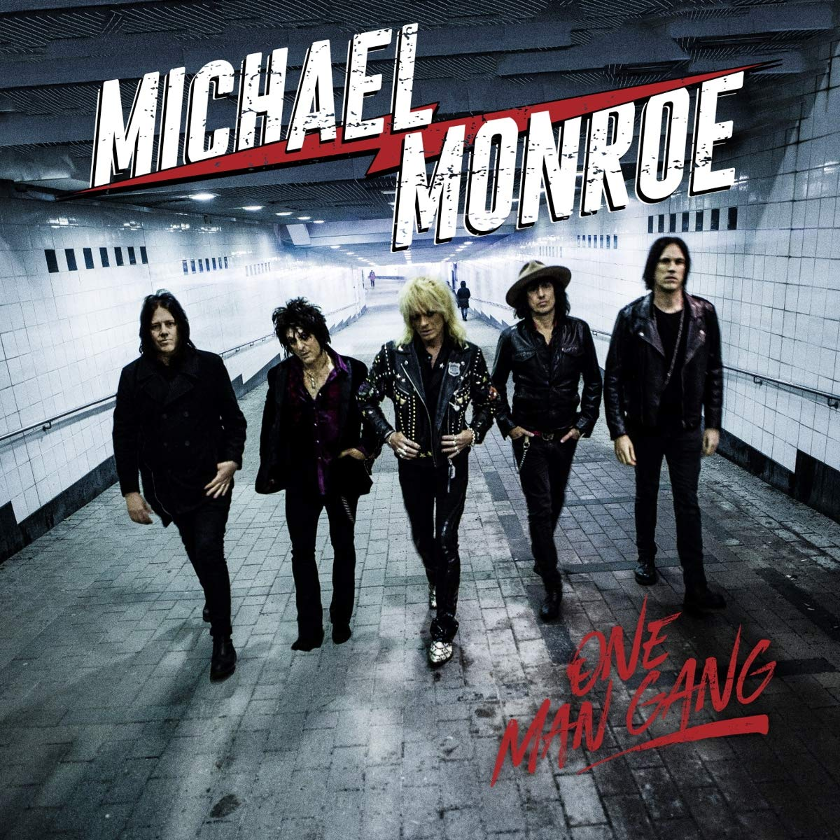 Michael Monroe - One Man Gang [LP] (Colored Vinyl) - Urban Vinyl | Records, Headphones, and more.