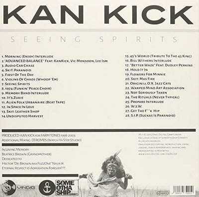 Kankick - Seeing Spirits (LP - NO EXPORT) (Vinyl) - Urban Vinyl | Records, Headphones, and more.