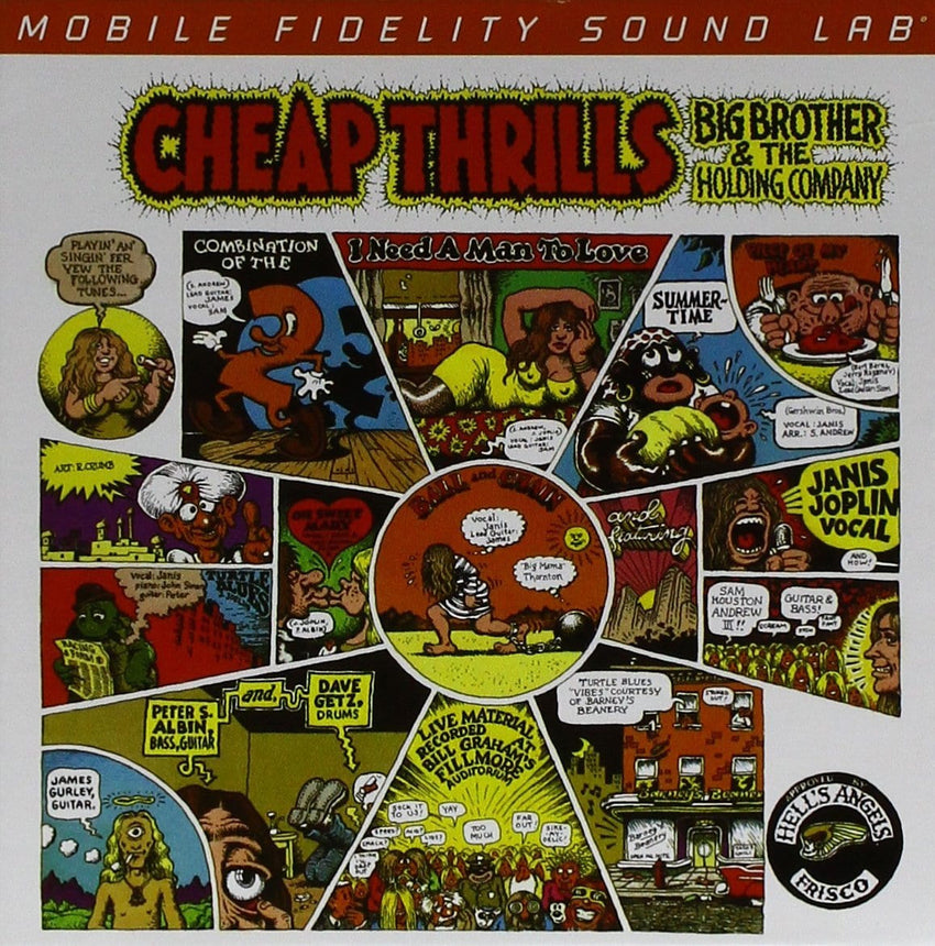 Big Brother & The Holding Company (Janis Joplin) - Cheap Thrills [SACD] (Hybrid SACD, limited/numbered) [NO EXPORT TO JAPAN] - Urban Vinyl Records