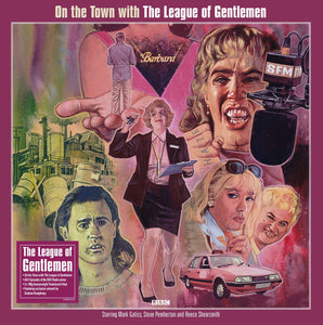 League Of Gentlemen - On The Town With The League Of Gentlemen [3LP] (import)