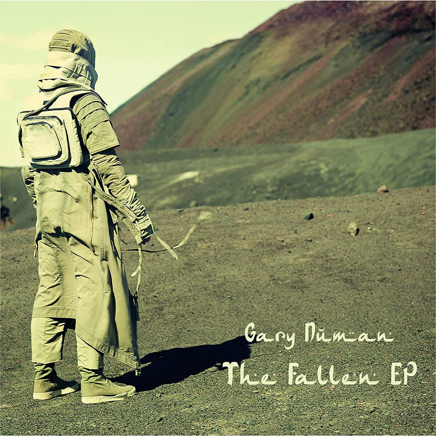 Gary Numan - The Fallen [12'' EP] (3-Stripe Colored Vinyl)