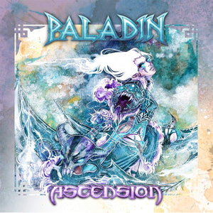 Paladin - Ascension [LP] (Bright Transparent Blue Colored Vinyl With Purple And White Splatter)