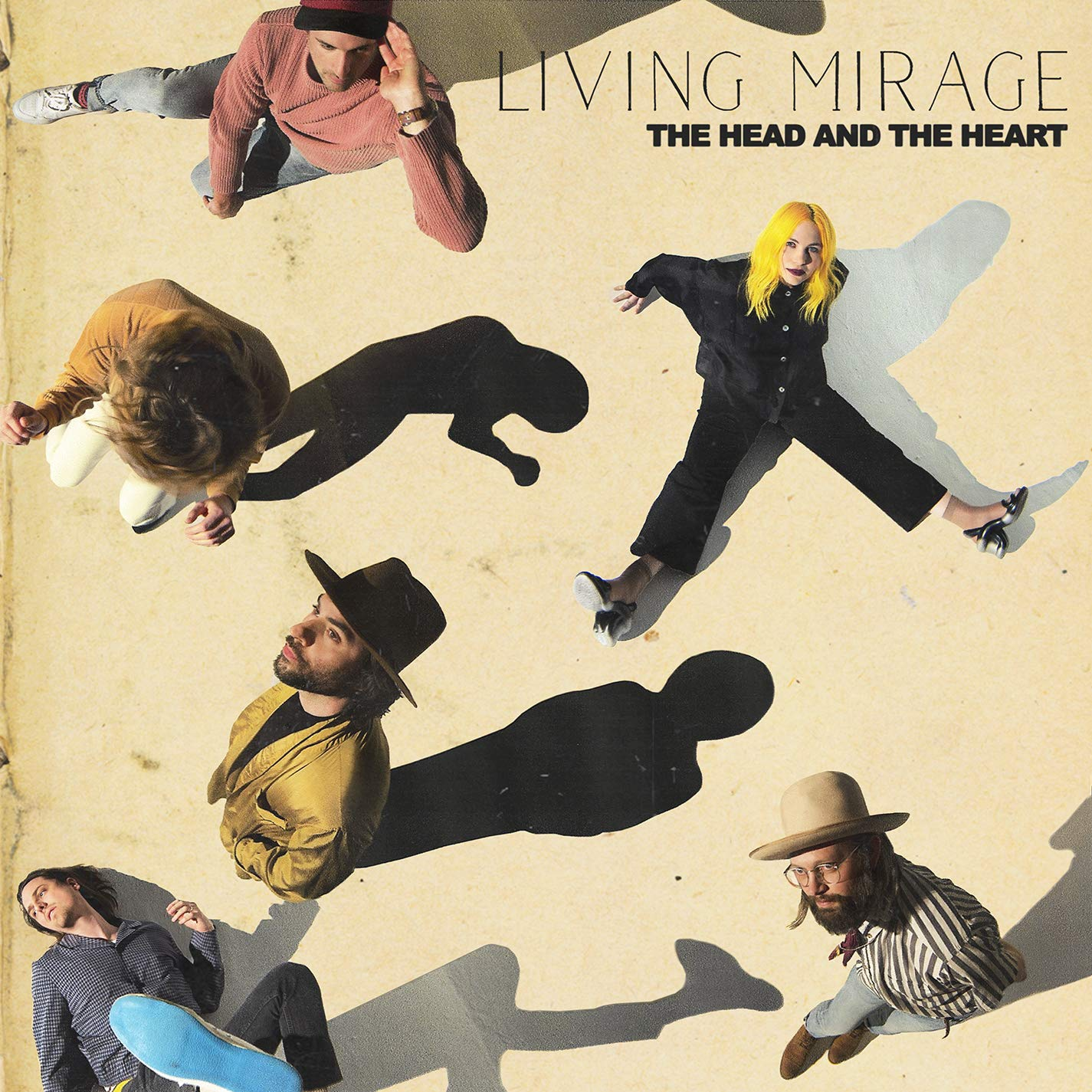 The Head And The Heart - Living Mirage [LP] Colored Vinyl Green - Urban Vinyl | Records, Headphones, and more.