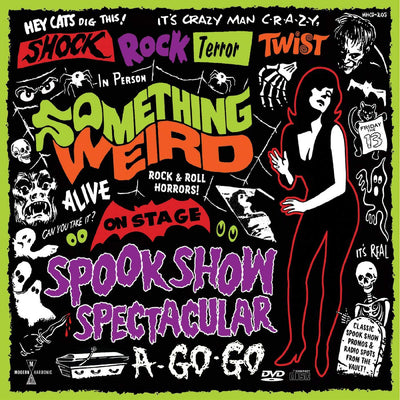 Something Weird - Spook Show Spectacular A-Go-Go [LP+DVD] (Red Vinyl) - Urban Vinyl | Records, Headphones, and more.