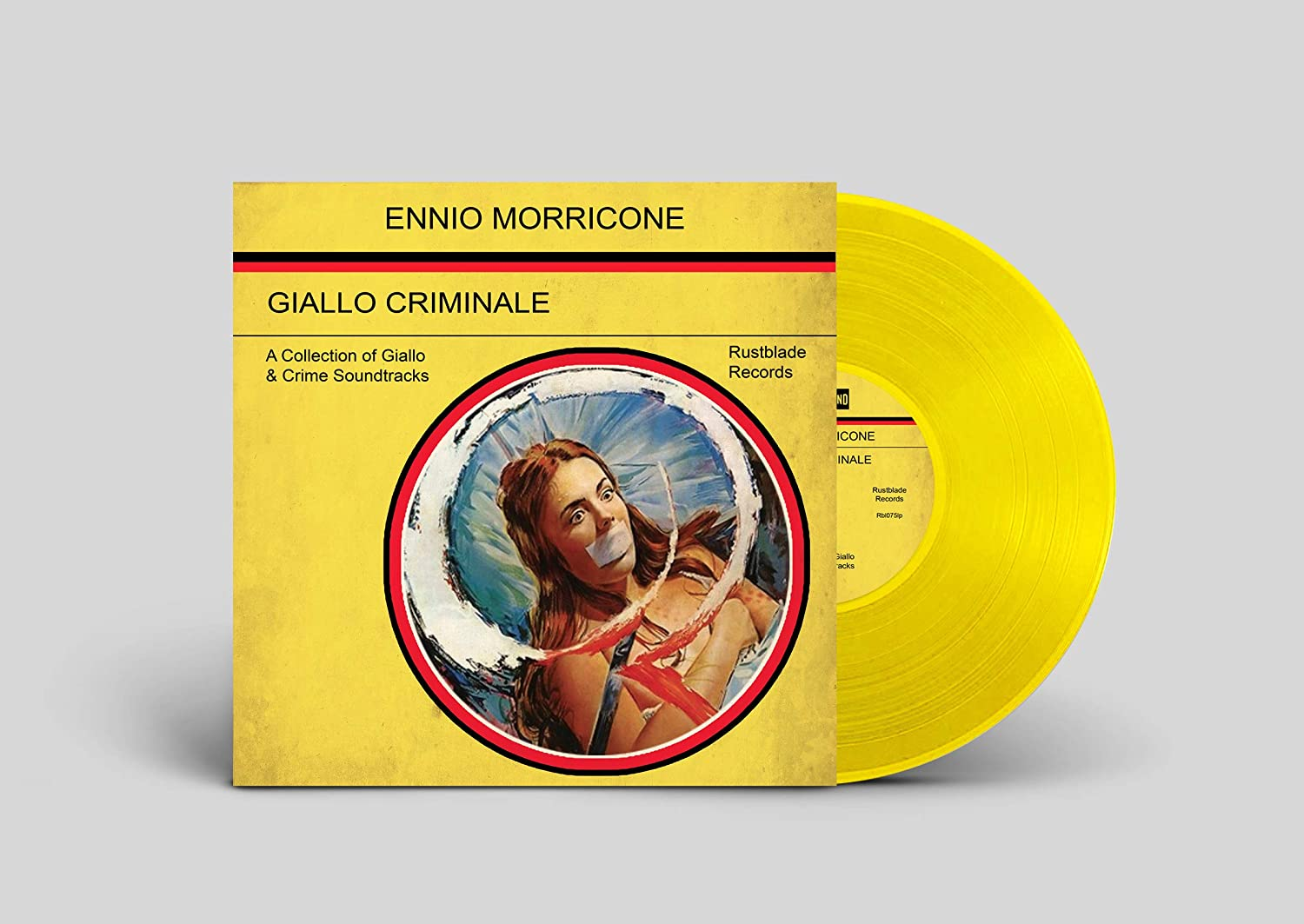 Ennio Morricone - Giallo Criminale [LP] (Yellow Vinyl, limited to 499) - Urban Vinyl | Records, Headphones, and more.