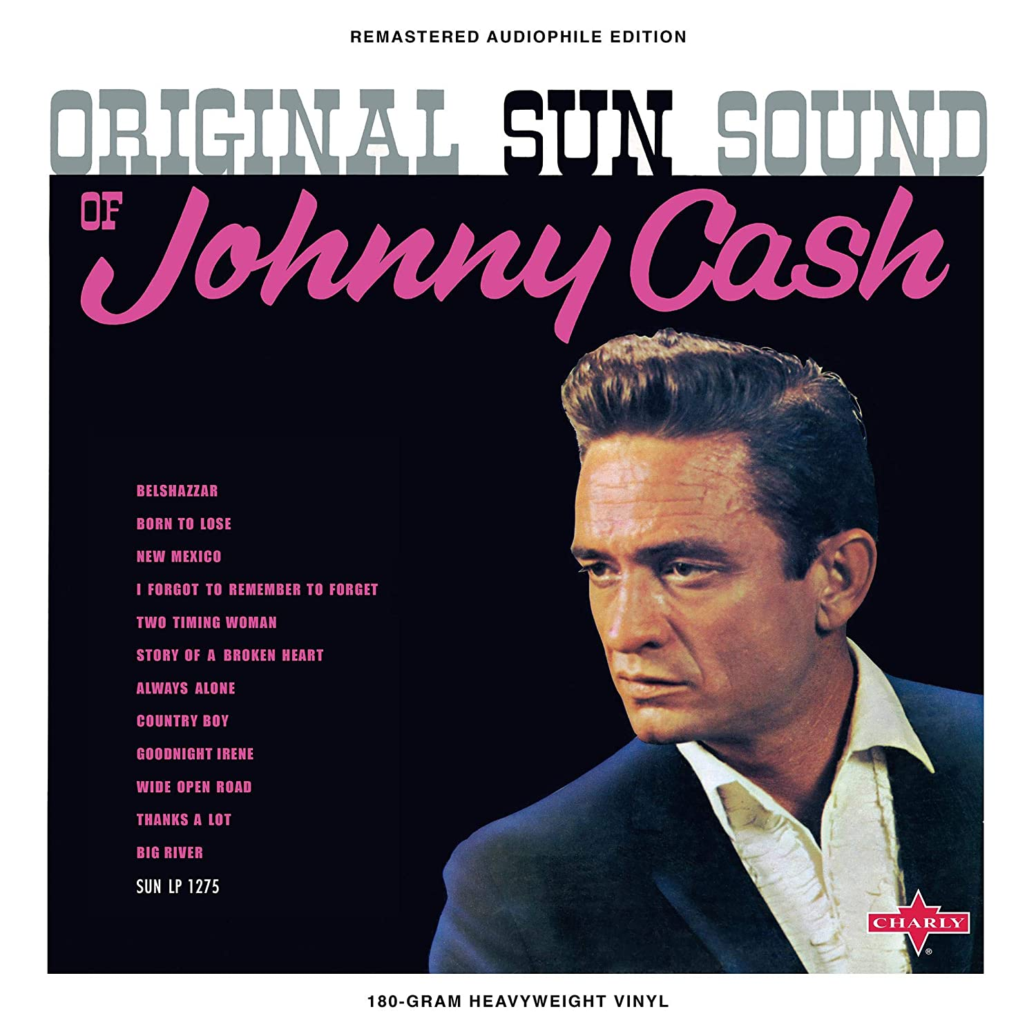Johnny Cash - Original Sun Sound Of Johnny Cash [LP] (Magenta Colored Vinyl, limited to 1000)