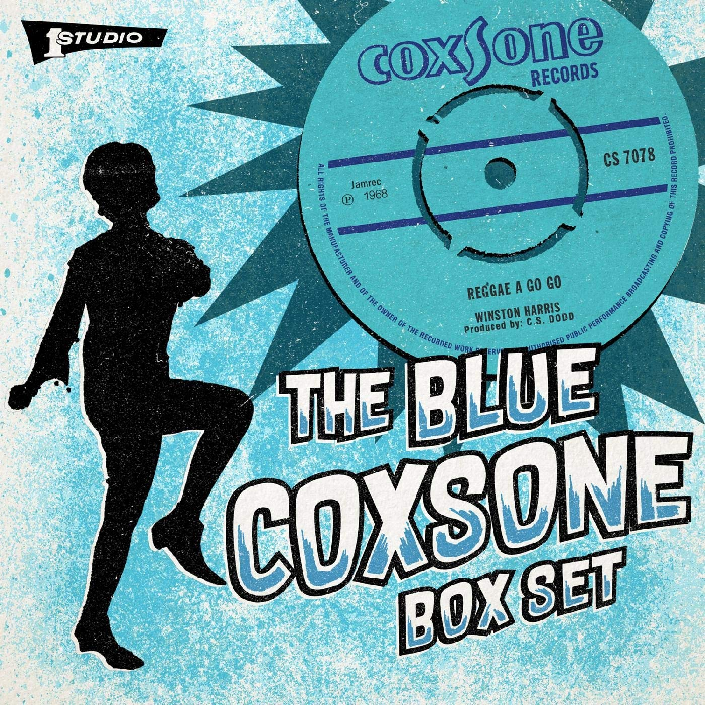Various Artists - Blue Coxsone [6x7'' Boxset] - Urban Vinyl | Records, Headphones, and more.