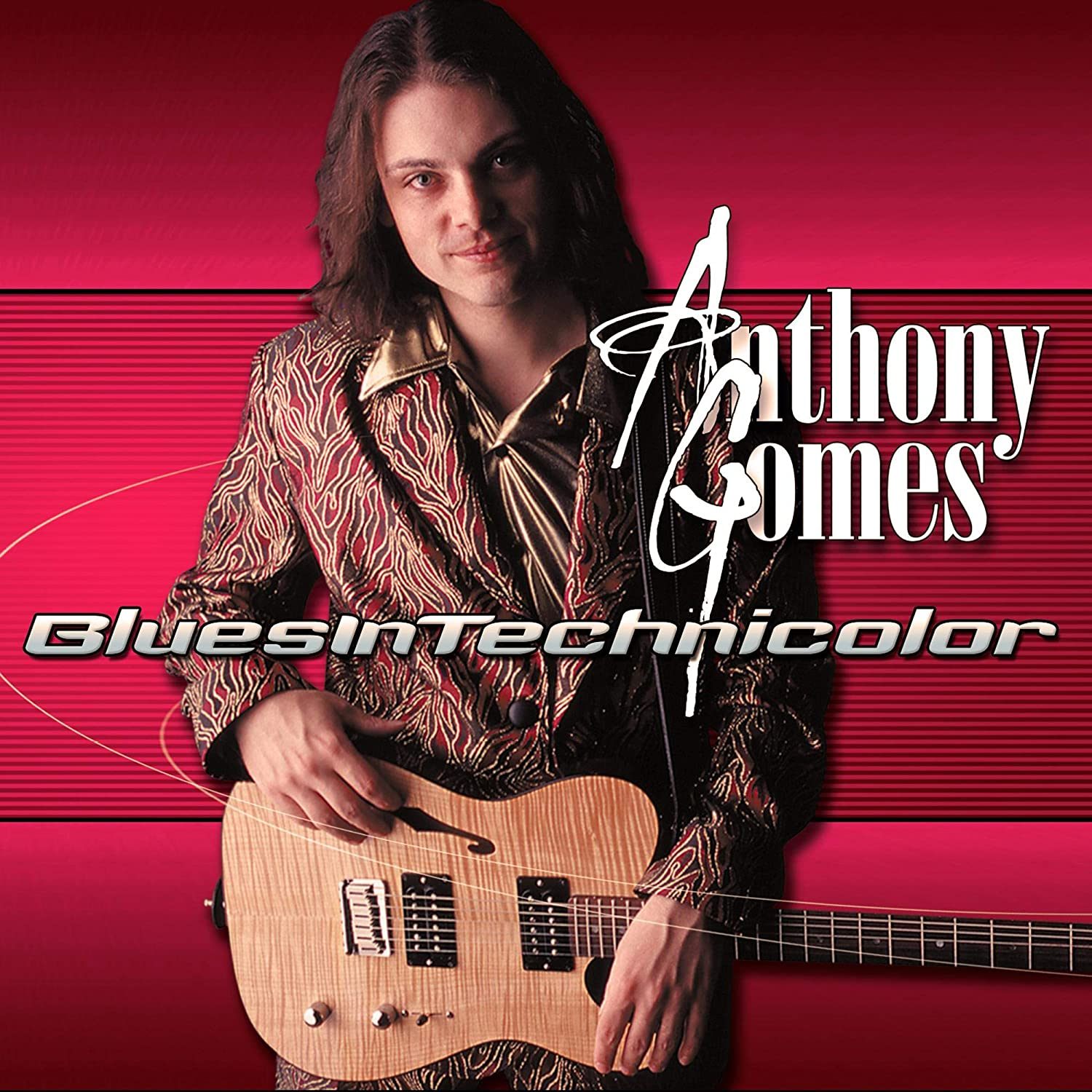 Anthony Gomes - Blues In Technicolor [CD] - Urban Vinyl | Records, Headphones, and more.
