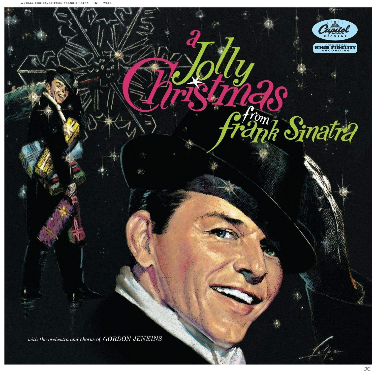 Frank Sinatra - A Jolly Christmas From Frank Sinatra [LP] - Urban Vinyl | Records, Headphones, and more.