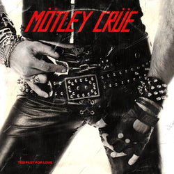 Motley Crue - Too Fast For Love [LP] (White Smoke Colored Vinyl, limited to 1000) - Urban Vinyl Records