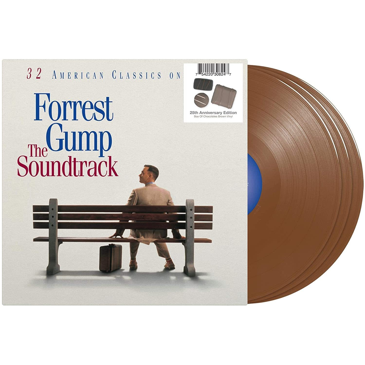 Various Artists - Forrest Gump (Soundtrack) [3LP] (Box Of Chocolates Brown Vinyl) - Urban Vinyl | Records, Headphones, and more.