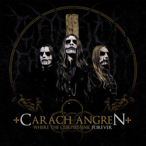 Carach Angren - Where The Corpses Sink Forever [LP] (Gold And Black Mix Colored Vinyl, limited) - Urban Vinyl Records