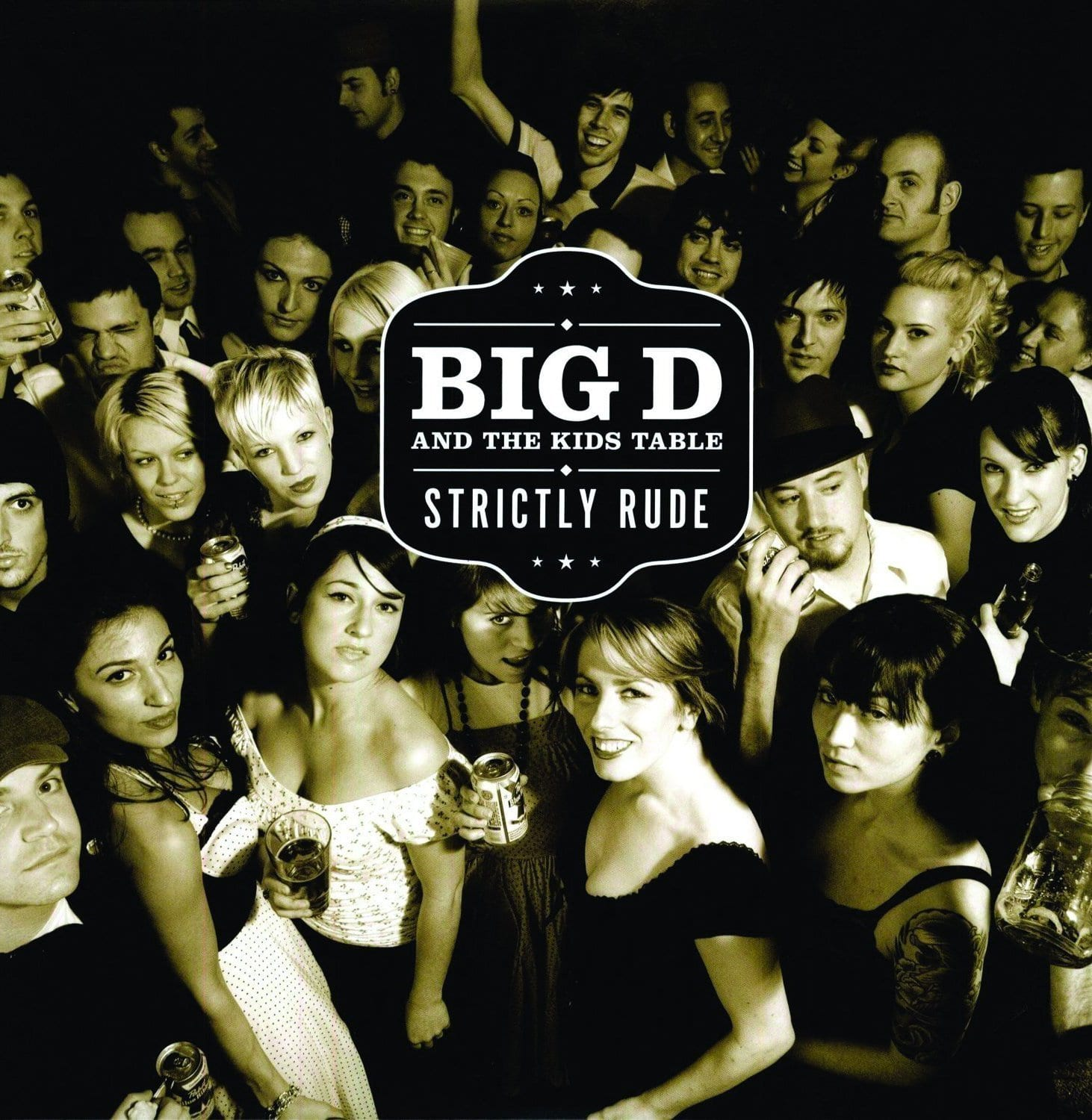 Big D And The Kids Table - Strictly Rude [2LP] (One Black And One White Colored Vinyl LP, SideOneDummy Records 20th Anniversary, gatefold, download, limited) - Urban Vinyl | Records, Headphones, and more.