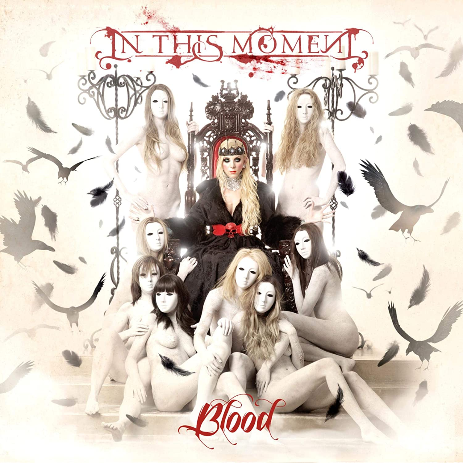 In This Moment - Blood [LP] (Blood Splatter Vinyl, limited) - Urban Vinyl | Records, Headphones, and more.