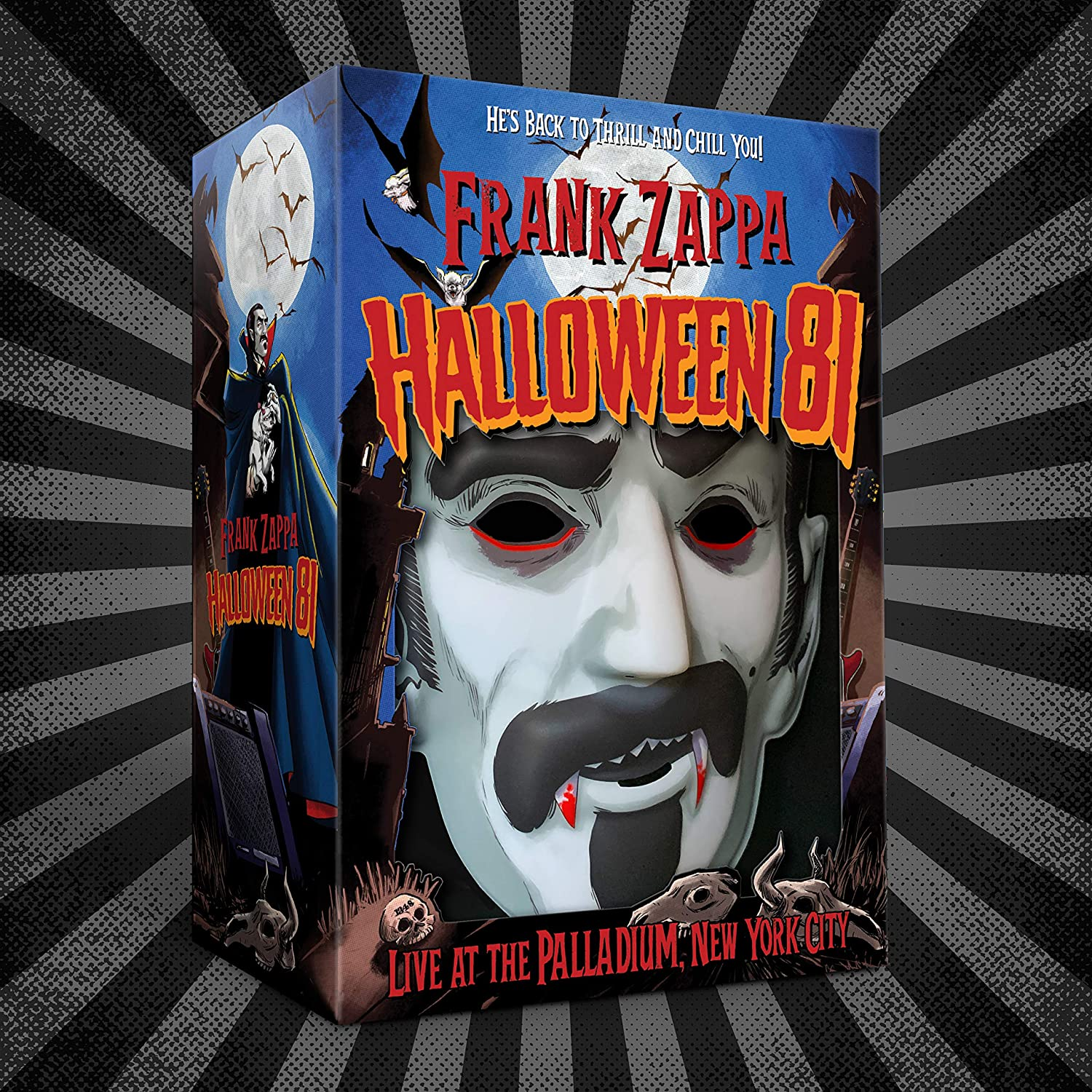 Frank Zappa - Halloween 81 [6CD] (Live At The Palladium, New York City, 1981)