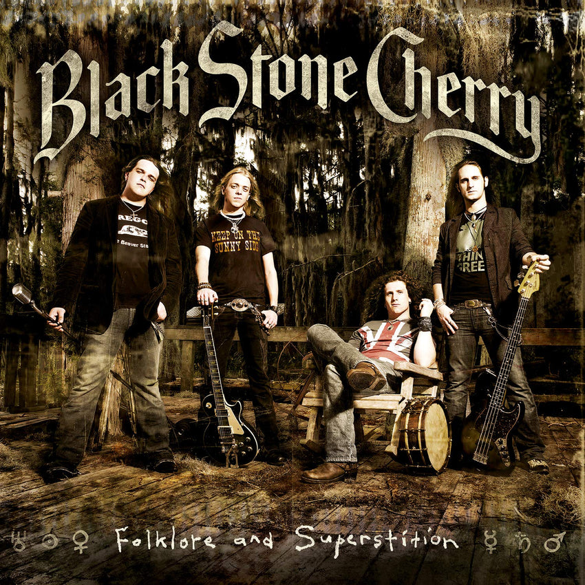 Black Stone Cherry - Folklore And Superstition [2LP] (LIMITED GOLD & BLACK MIXED 180 Gram Audiophile Vinyl, gatefold, booklet, numbered to 1500, import) - Urban Vinyl Records