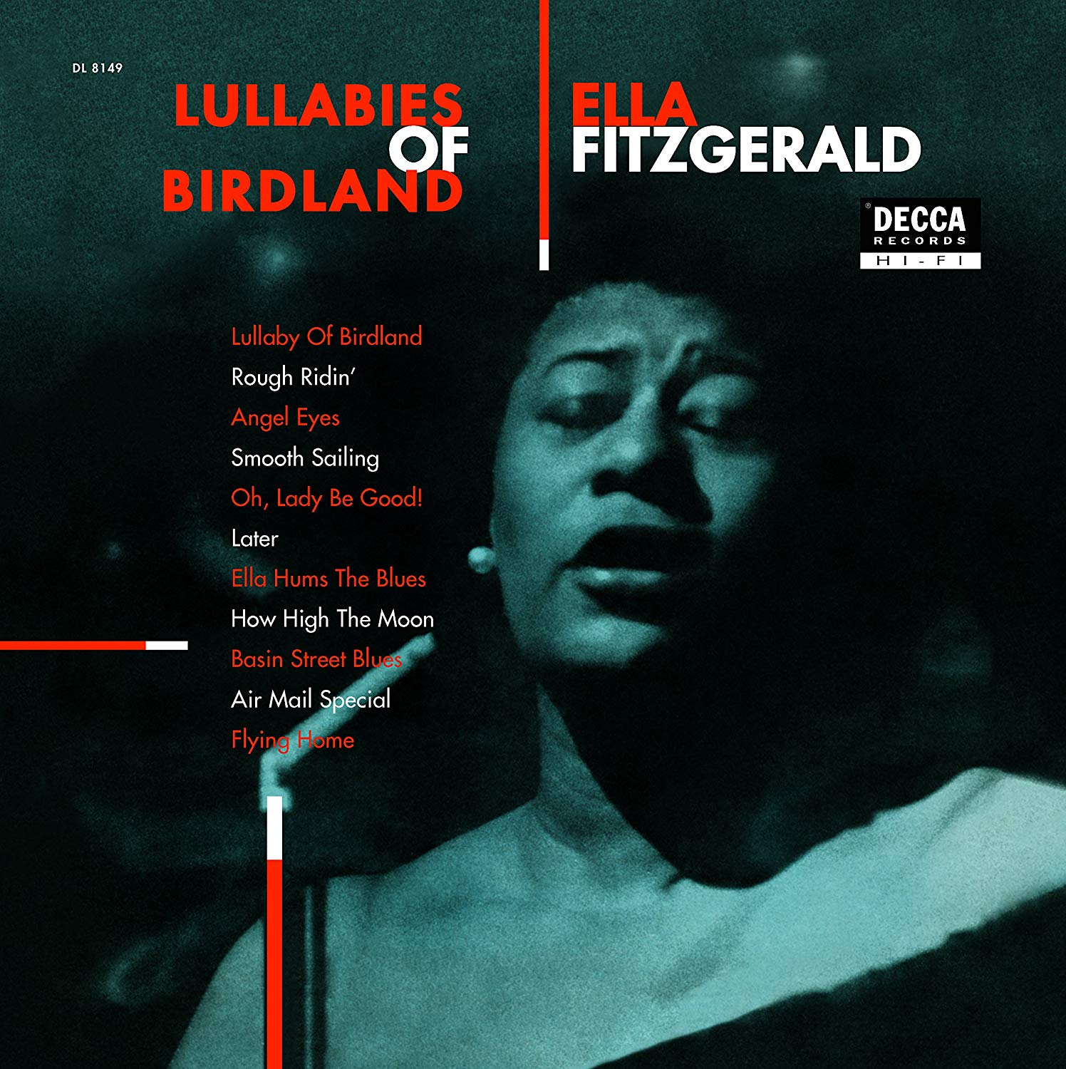 Ella Fitzgerald - Lullabies Of Birdland [LP] (180 Gram Audiophile Vinyl, import) - Urban Vinyl | Records, Headphones, and more.