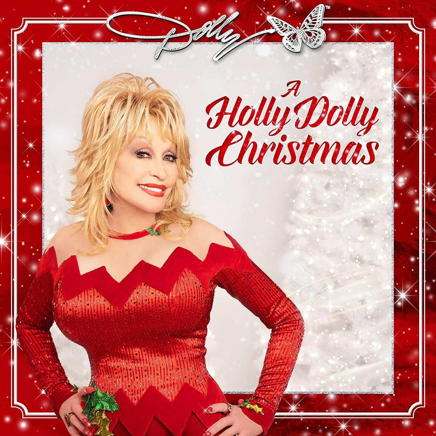 Dolly Parton - A Holly Dolly Christmas [LP] (Opaque Red Vinyl)