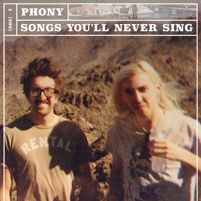 Phony - Songs You'll Never Sing [LP] - Urban Vinyl | Records, Headphones, and more.