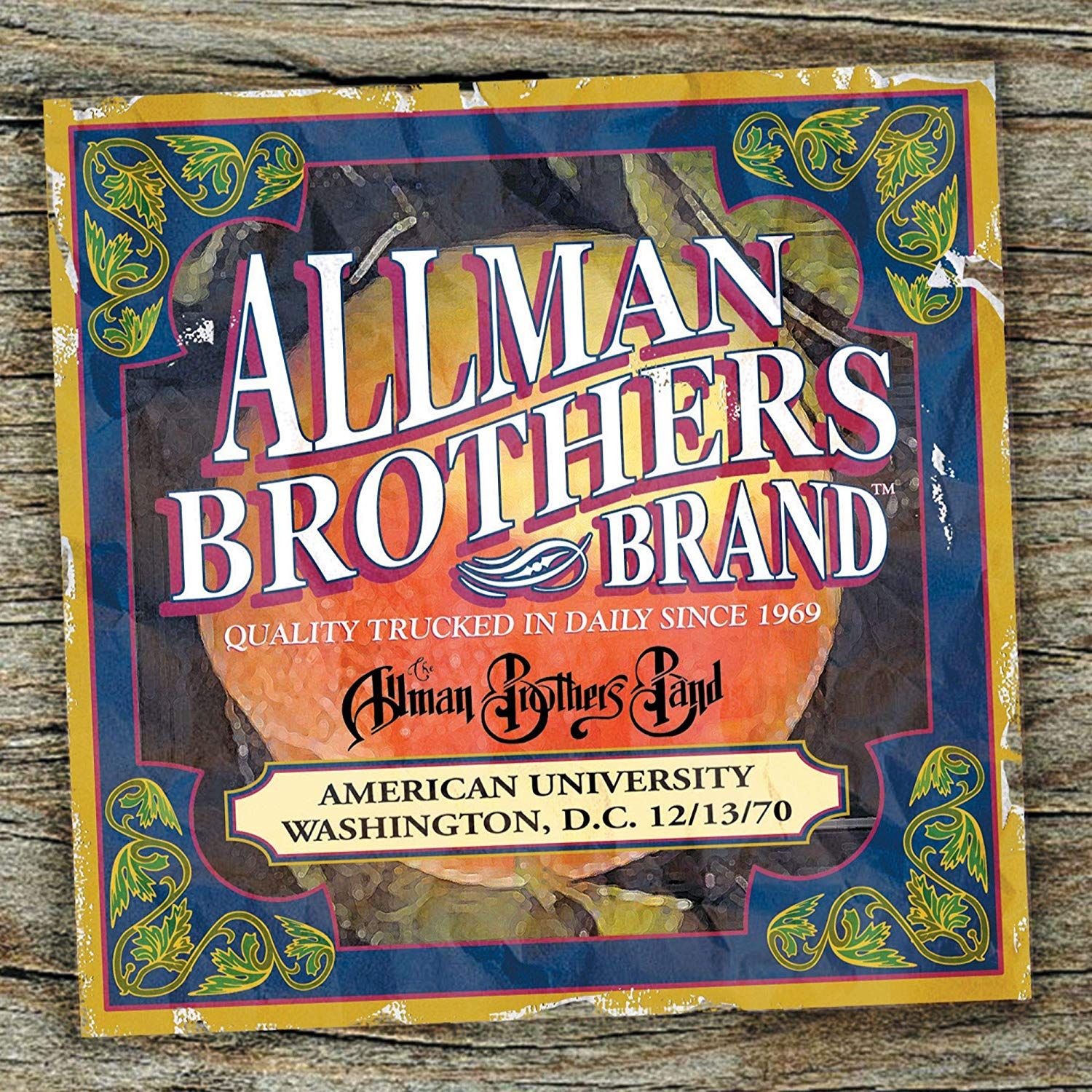 Allman Brothers Band, The - American University 12-13-70 [2LP]
