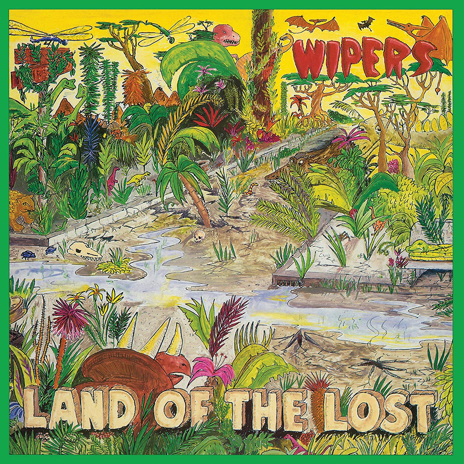 Wipers - Land Of The Lost [LP] (Blue/Gray Colored Vinyl, first-time reissue of 1986 album, limited)