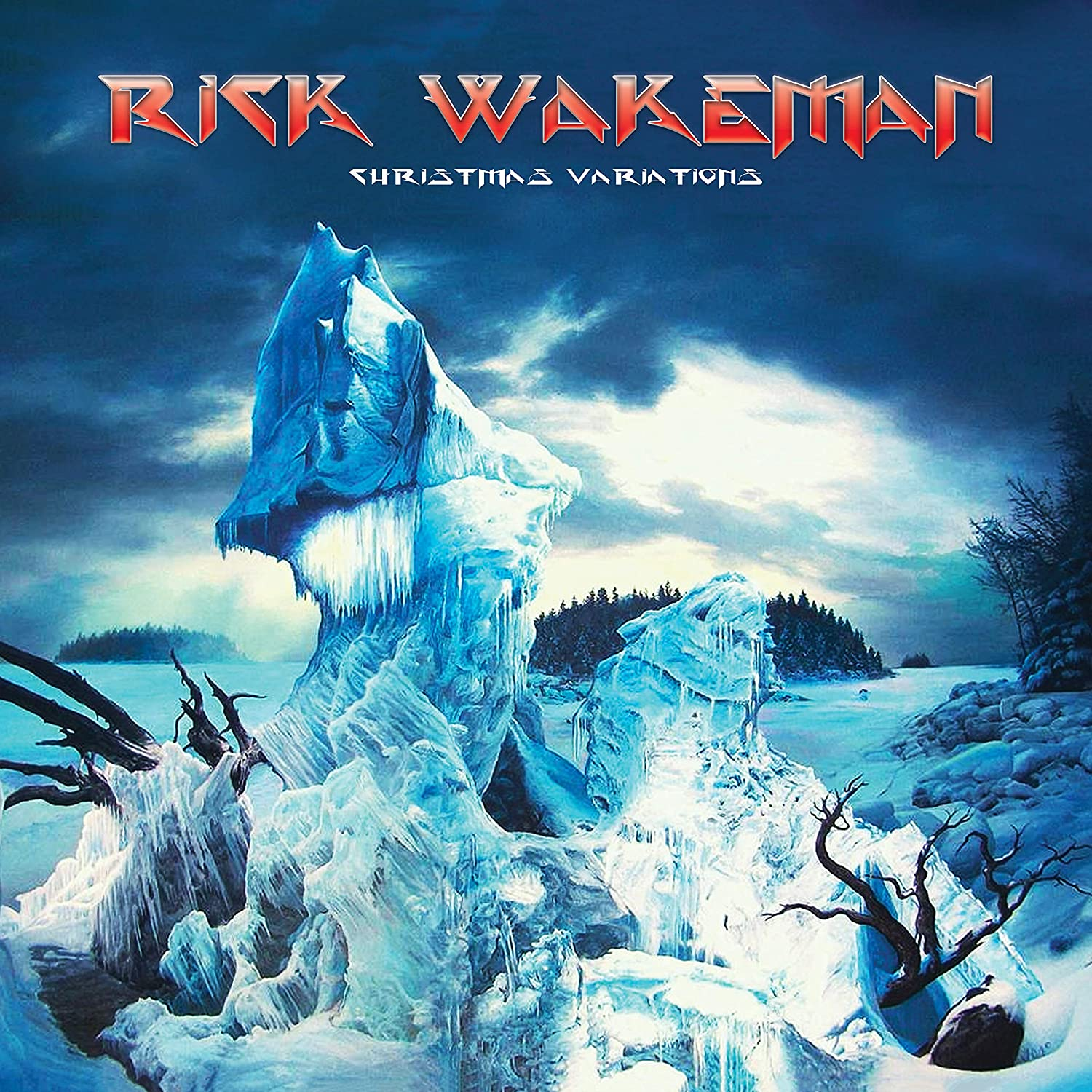 Rick Wakeman - Christmas Variations [2LP] (Colored Vinyl, gatefold)