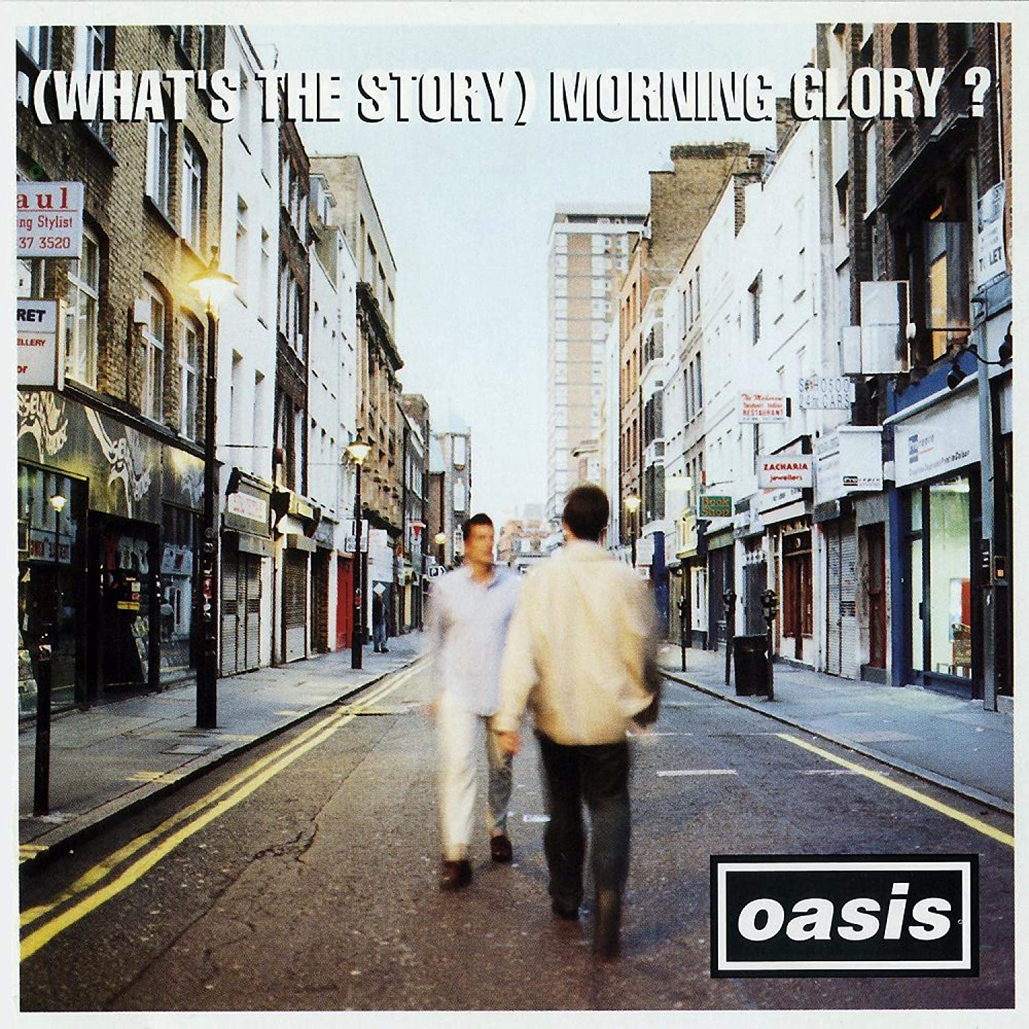 Oasis - What's The Story Morning Glory? [2LP] (Silver Vinyl, 25th Anniversary Edition Remastered, limited)