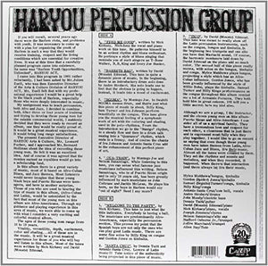 The Har-You Percussion Group - The Har-You Percussion Group (LP)