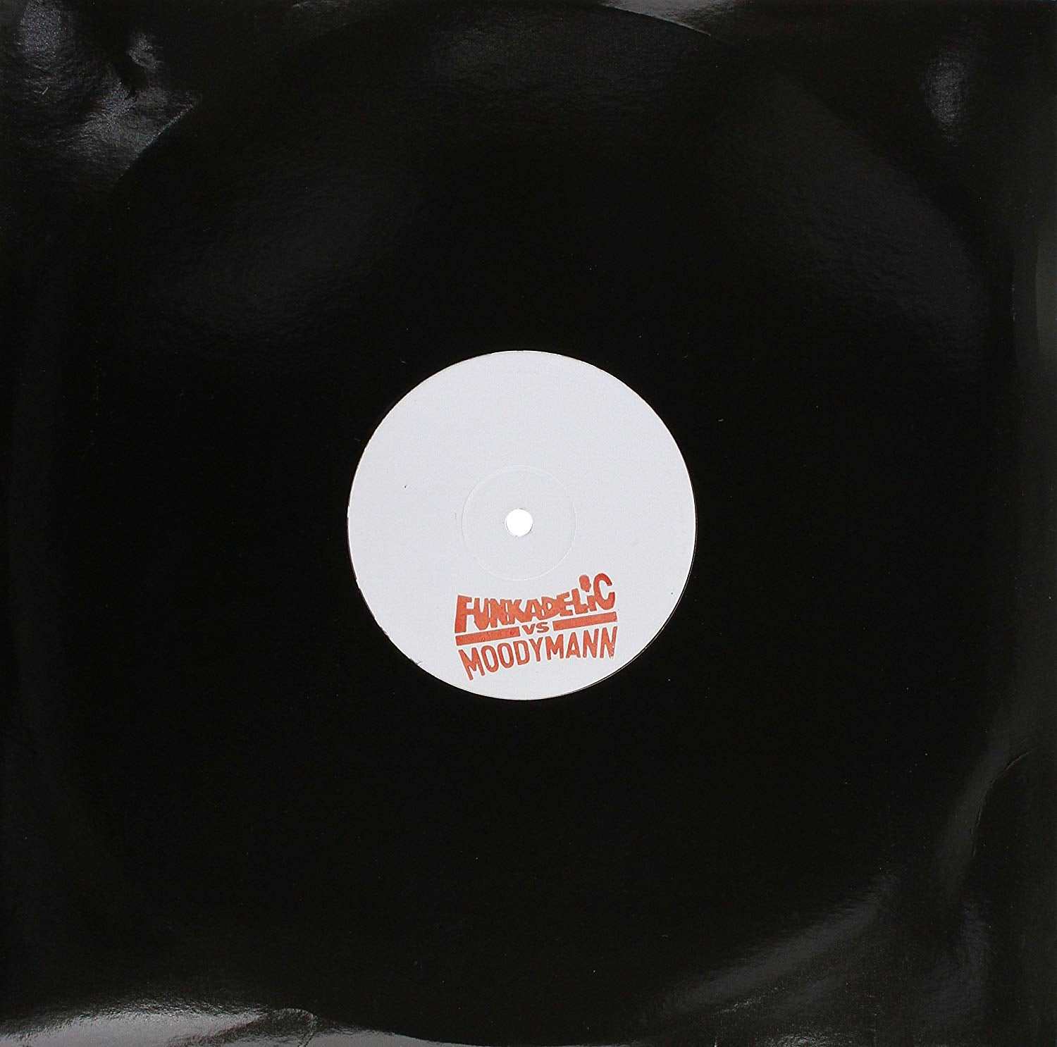 Funkadelic vs Moodymann - Cosmic Slop (Moodymann mix) / Let's Make It Last (Kenny Dixon Jr edit) [12''] (limited white label import)