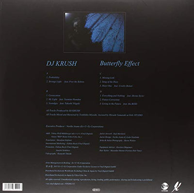 DJ Krush - Butterfly Effect (2XLP - NO EU/UK) - Urban Vinyl | Records, Headphones, and more.