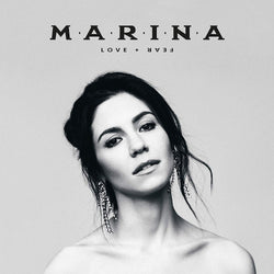 MARINA - Love + Fear [2LP] (Black & White Colored Vinyl) - Urban Vinyl Records