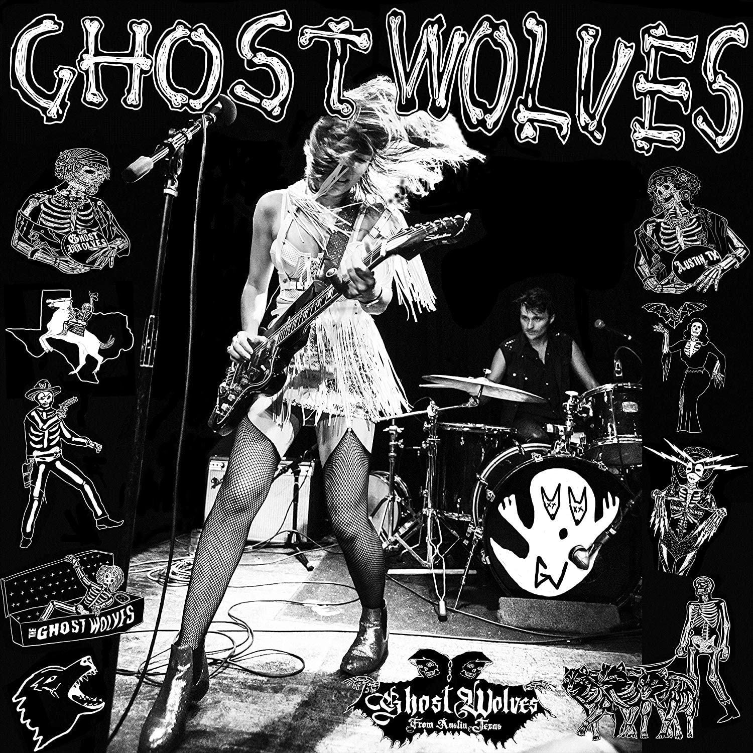 Ghost Wolves - Crooked Cop b/w Fist & Day Will Follow The Dawn [7'']